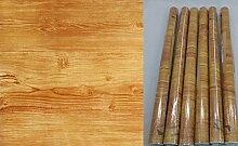 Klebefolie 6er Set - Möbelfolie Holz Eiche braun