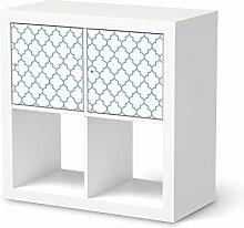 Klebefolie für IKEA Expedit Regal 2 Türen Quer |