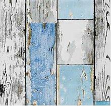 Klebefolie Holzdekor- Möbelfolie Holz Scrapwood