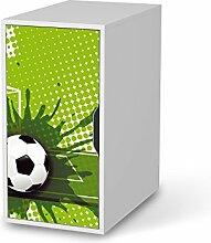 Klebefolie Kindermöbel für IKEA Alex Schreibtisch-Schrank | Möbel-Tattoo Design | Deko Ideen IKEA Möbel für Kinder-Zimmer Raumgestaltung | Kids Kinder Goal