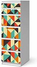 Klebefolie Sticker Tapete für IKEA Malm 6