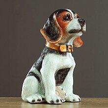 KLEDDP Simulation Hund Ornamente Handwerk
