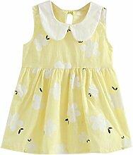 Kleid mit Blumendruck für 2–7Jahre, süße