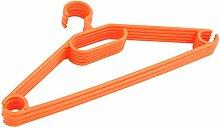 Kleiderbügel 100 Stück Wäschebügel Bügel Kunststoff antirutsch orange