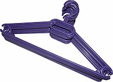 Kleiderbügel 200 Stück in Violett |