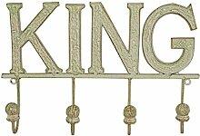 Kleiderbügel aus Gusseisen KING