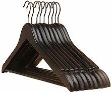 Kleiderbügel Aus Holz Antirutsch Zum