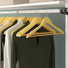 Kleiderbügel aus Holz Wayfair Basics