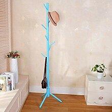 Kleiderbügel Hutständer, Holzbaum