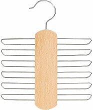 Kleiderbügel Krawattenhalter Krawattenbügel aus Holz