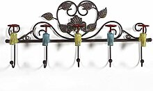 Kleiderbügel Retro dekorative Haken Kreative Café Kleiderbügel Schlüsselanhänger Wand ( farbe : B )