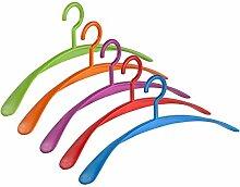 Kleiderbügel Wing Rainbow Buntes 5 Farben Set