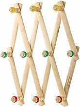 KLEIDERBÜGEL ZLR Bambus Versenkbare Klapp Haken