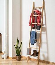 Handtuchleiter Eiche handtuchhalter kleiderleiter de günstig kaufen lionshome