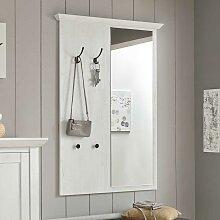 Kleiderpaneel in Weiß Pinie Spiegel