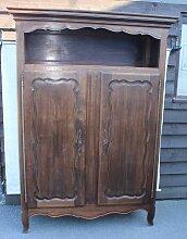 Kleiderschrank aus Eiche mit 2 Türen, 1920er