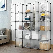 Kleiderschrank DIY Schrank Regalsystem Steckregal