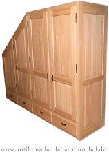Kleiderschrank Holzschrank Wäscheschrank