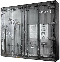 Kleiderschrank Josh Container-Optik 4 Türen B 237