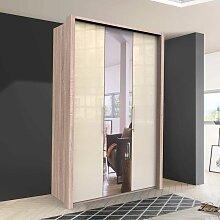 Kleiderschrank Jugendzimmer mit Falttüren und