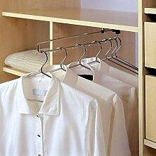 Kleiderschrank-Kleiderstange zum Ausziehen, Alle