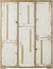 Kleiderschrank mit 6 Türen aus
