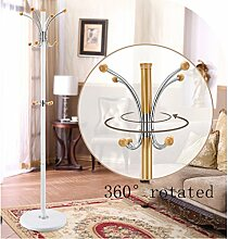 Kleiderständer aus rostfreiem Stahl einfache Montage Kleiderbügel Landung kreative Racks ( farbe : Weiß , größe : A )
