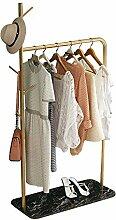 Kleiderständer, einspurige Kleiderstange für