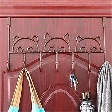 Kleiderständer, Haken Türhaken Wandhaken Frei Nagelfreie Haken Wand Kleiderbügel Küche Badezimmer Wandregale , B