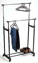 Kleiderständer höhenverstellbar 110-160 cm