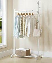 Kleiderständer Kleiderbügel im europäischen Stil Kreative moderne Wohnzimmer Schlafzimmer Balkon Kleiderständer ( farbe : Weiß )