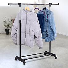 Kleiderständer Kleiderstange mit Ablage