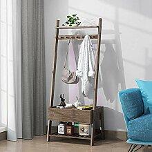 Kleiderständer mit Aufbewahrungsbox für