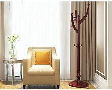 Kleiderständer Regal einfaches modernes Schlafzimmer hängende Kleiderständer Regal Wohnzimmer Haus ( Farbe : Braun )