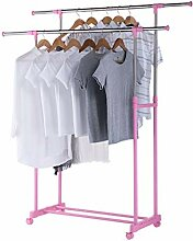 Kleiderständer Wäscheständer aus Edelstahl für