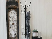 Kleiderständer Wand Metall Chic Antique Garderobe Garderobenständer H122cm Haken Bekleidung