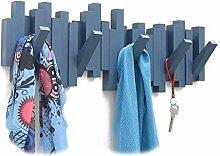 Kleiderständer Wandhaken 5 Haken Sticks Multi