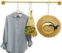 Kleiderständer, Wandhalterung aus Eisen, geeignet