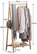 Kleiderständer ZHIRONG 3 In 1 Holz Hängende