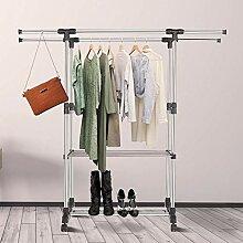 Kleiderstangen Höhenverstellbarer Kleiderständer