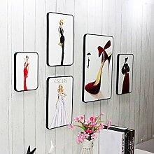 Kleidung AccessoiresFrauen sexy Stil an der Wand BildFoto an der WandDassKostüme Tanz