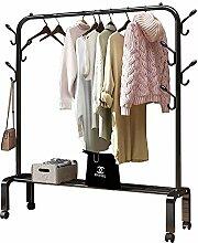 Kleidung Auslage, abnehmbare Metallkleiderstange,