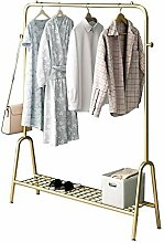 Kleidung Auslage, Einschienenmetallkleiderstange,