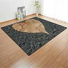 Klein Ball Teppich-Bedruckter Teppich Rutschfester