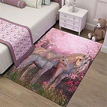Klein Ball Teppich-Schlafzimmer Teppich Matte