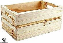 Kleine Holzkiste - Stiege - Steige - Mini - naturbelassen - Geschenkverpackung - Geschenkidee - Präsentkorb - Leer