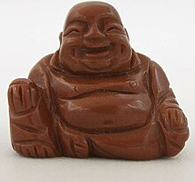 Kleine Hotai Buddha Goldfluss Stein (5cm)