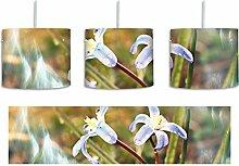 Kleine Lila Waldblume inkl. Lampenfassung E27,