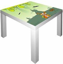 Kleine Monster Möbelsticker / Aufkleber für den Tisch LACK von IKEA - IM29