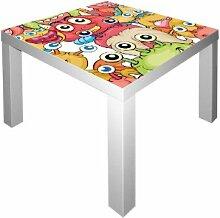 Kleine Monster Möbelsticker / Aufkleber für den Tisch LACK von IKEA - IM157